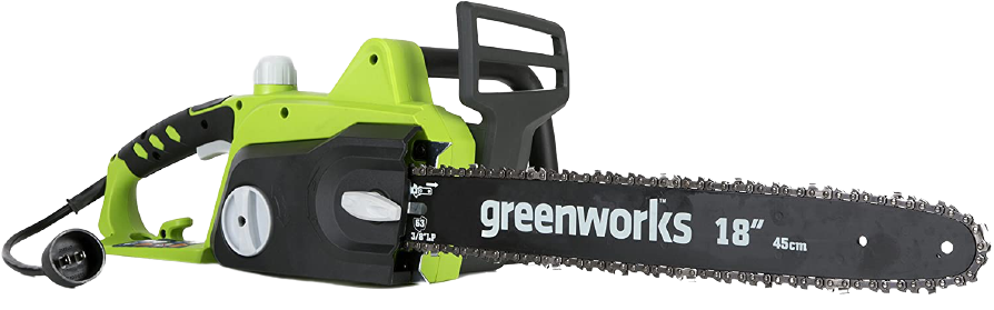 Greenworks 18 Inch 14.5 Amp Corded Electric Chainsaw 20332