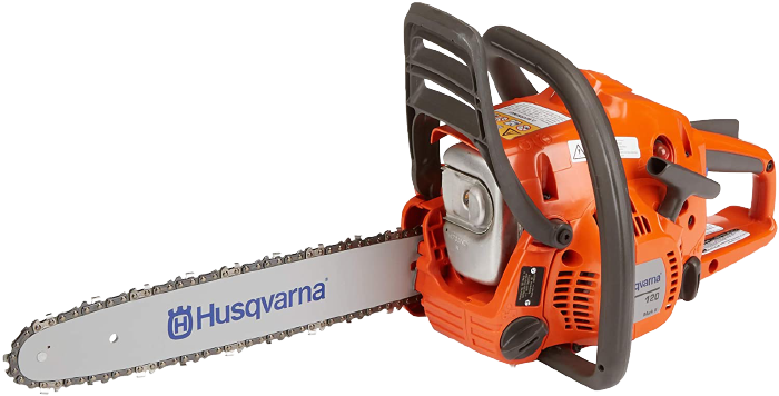 Husqvarna 120 Mark II 14 in. Gas Chainsaw 1