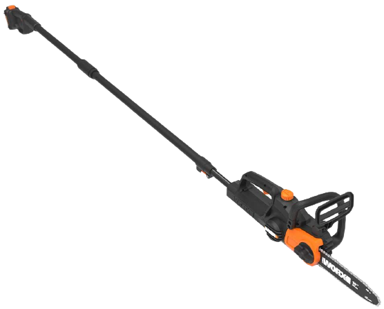 WORX WG323 20V Power Share Cordless 10 inch Pole SawChainsaw with Auto Tension